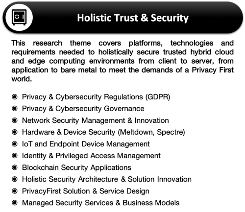 Research Agenda 2019 Focus 4-Holistic Trust Security